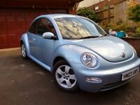 VW Beetle, Alloy wheels & Aircon, excellent condition.