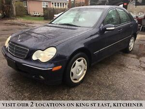 2002 Mercedes-Benz C-Class Classic | 6 SPEED | LEATHER