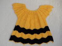 Handmade Crochet dress, blouse, tunic - new