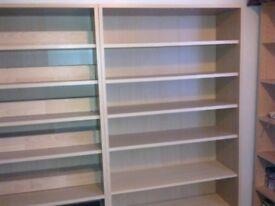 Bookshelves Light Oak