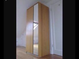 Ikea mirror wardrobe £80 each