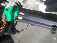 Powerbase leaf blower and vac