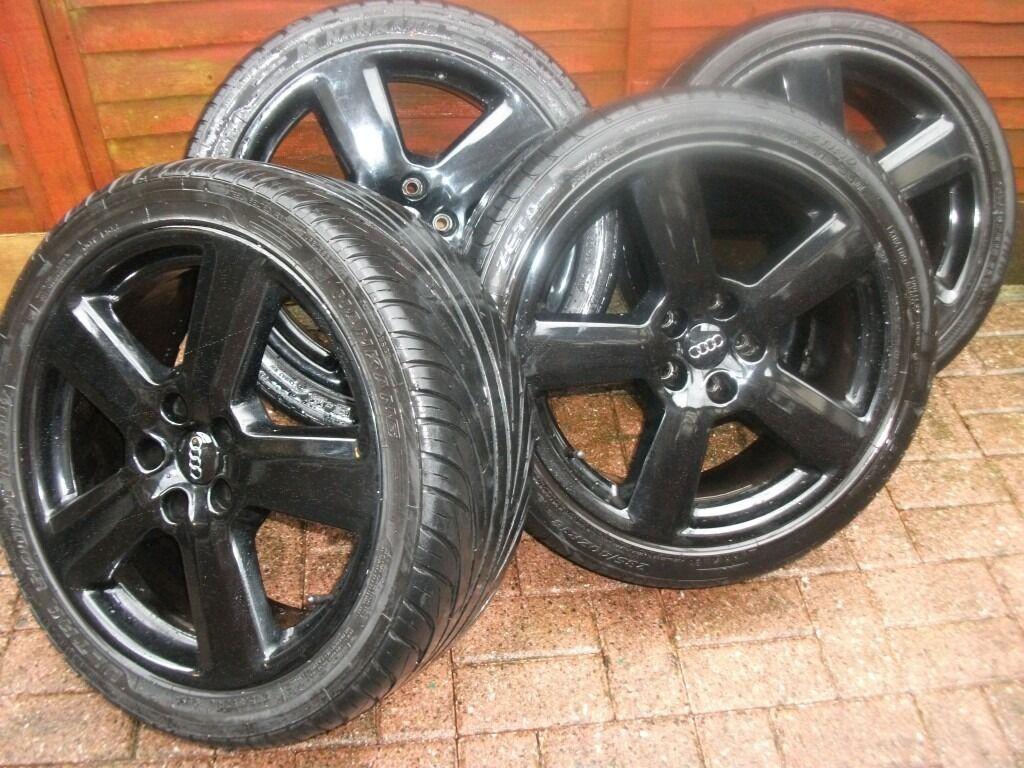 Original Audi RS6 alloys wheels 5x112 pcd
