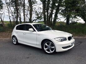 BMW 116d Sport in WHITE-5dr-FULL SERVICE HISTORY