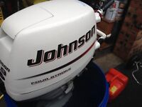 johnson 9.9 four stroke outboard for sale professionally upgraded to 15hp