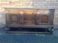 Superb quality oak dresser, sideboard full of old charm