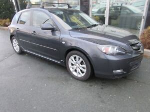 2008 Mazda 3 SPORT 5-DOOR HATCH WITH ALLOYS & ROOF RACKS