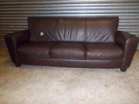 Genuine Natuzzi Italian Leather 3+2-seater Suite (Sofa)