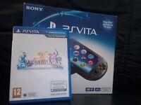 Sony PS Vita Wi-Fi (PCH-2016) With Final Fantasy X (PS Vita)