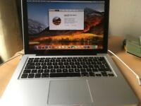 Apple MacBook Pro 13 inch, 8GB memory, 500GB drive, 2.4 GHz i5. Late 2011 Model.