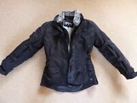Motorcycle Jacket, Ladies (size XS) Frank Thomas Zarina, BRAND NEW, waterproof with thermal liner