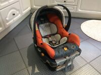 Isofix car seat & base