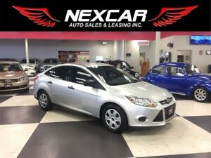 2014 Ford Focus S 5 SPEED A/C ONLY 46K