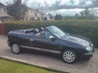 Renault megan convertible 12 months mot in a1 condition new cambelt