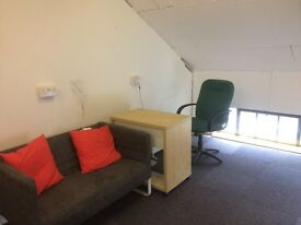 OFFICE/STUDIO SPACE (not residential) APPROX 150 sq ft