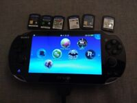Perfect condition PS Vita model PCH-1003
