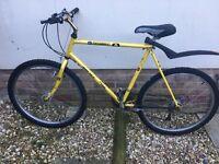 Muddy Fox Explorer 80s yellow