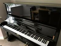 Yamaha U3S Upright Piano w/ SILENT MODE - Used but AS NEW - Original owner