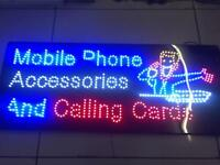 MOBILE PHONE SHOP LED SIGN FOR SALE