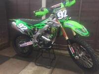 Kawasaki Kxf 250 Motocross bike L@@K not 125 450 Ktm Yzf Rmz Yz Cr