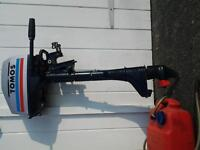 outboard motor 4hp longshaft