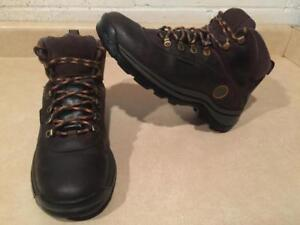 Men's Size 8 Timberland Leather Waterproof Hiking Boots
