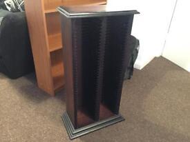 Solid Wood 80+ CD Holder Rack Stand