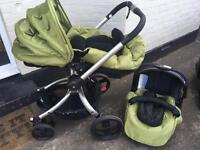 Mothercare Spin complete travel system.