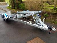 Car transporter Dale kane 14x6,2 tilt bed trailer