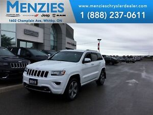 2015 Jeep Grand Cherokee Overland Diesel, Nav, Pan Roof, Clean C