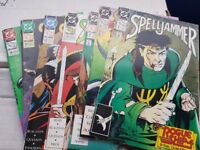 DC Spell jammer Comics from 1990s