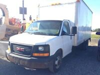2005 GMC Savana 3500 16Ft cube with rear loader! 100% Approval!