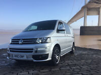 VW T5 CAMPERVAN HIGHLINE 140 BHP CAMPER CONVERSION 42,000 MILES