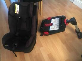 Hauck car seat with isofix