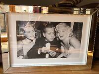 Classic Photo in Stunning Mirrored Frame