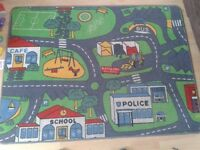 Childrens road rug