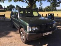 Range Rover p38 2.5 DSE , 1 yrs MOT no advisories ,stunning , FSH , faultless