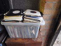 Selection of 70s & 80s vinyl singles