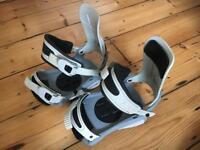 Snowboard Bindings - size medium