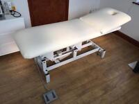 Electric treatment couch - perfect working order