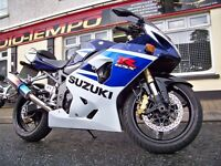 Suzuki GSXR750 K5 2005 SOLD WITH WARRANTY Nice Clean Motorcycle With A Few Extras gsx-r 750