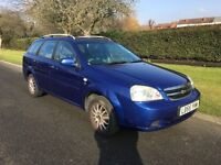 CHEVORLET LACETTI 1.6 PETROL 1 OWNER FROM NEW