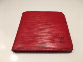 Genuine LV Louis Vuitton Marco wallet, EPI leather red, RRP €650!!