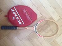 Wooden Tennis Racket - Dunlop Maxply Fort
