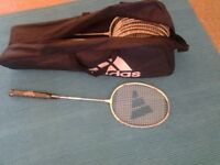 Badminton precision 8 light weight racket. new