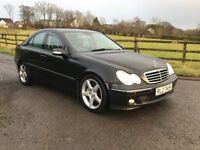 2006 Mercedes C320 CDI Avantgarde SE auto, full year MOT,trade in considered, credit cards accepted