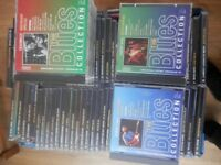A large collection of Blues Cds