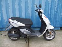 yamaha neos 50 four stroke scooter 16 year olds transport 2010 service history new mot can deliver