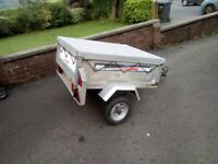 4ft X 3ft Galvanised Erde Tipping Trailer