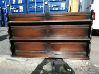 Welsh dresser top, ideal for showing plates.